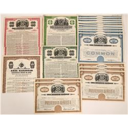 33 Erie Railroad Equipment Bonds Trust and Stock Certificates  (117501)
