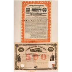 Two North Carolina RR Bonds  (112261)