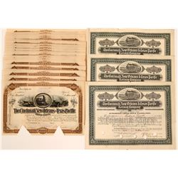 Cincinnati, New Orleans & Texas Pacific RR Stock Certs  (117213)
