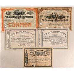 Cincinnati Railroad Stock Group (5)  (111301)