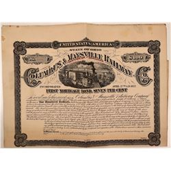 Columbus & Maysville Railway First Mortgage Bond  (111243)