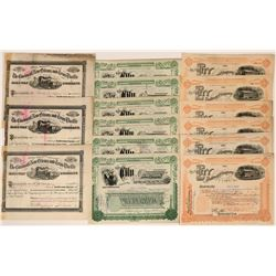 Ohio Railroad Stock Collection (117542)