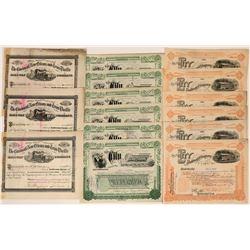 Ohio Railroad Stock Collection (117542)