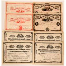Eight Philadelphia stocks  (117522)