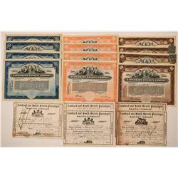 Pennsylvania RR Stock Collection  (115915)
