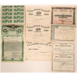 Pennsylvania Railroad Certificates   (117866)