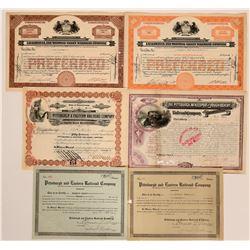 Pennsylvania Railroad Stock Collection  (117879)