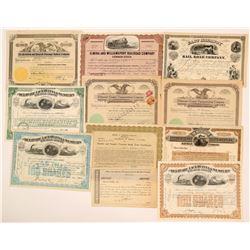 Pennsylvania Railroad Stock Group (11)  (111685)