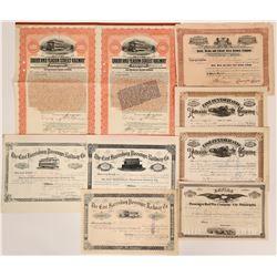 Pennsylvania Railroad Stocks and Bonds  (117868)