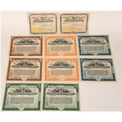 Pennsylvania Railroads Stock Certificates  (107596)