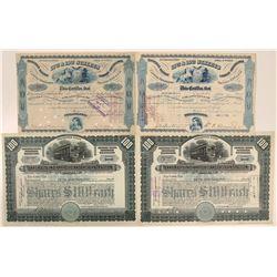 Pennsylvania/Indiana Railroad Stocks  (112496)