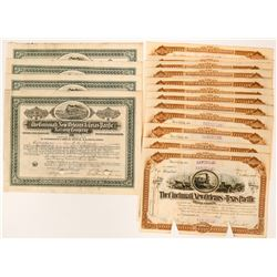 16 Cincinnati, New Orleans and Texas Pacific Railway Company Stock Certificates  (117499)