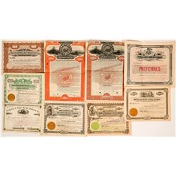 Washington & Oregon Railroad Stock Certificates and Bonds  (117371)
