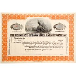 Lehigh and Hudson River Railway Stock  (85103)