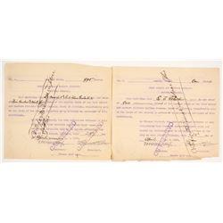 Rock Island and Eastern Illinois Railway Company Stock Certificates  (81044)