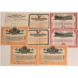 Various Railroad Stocks  (117525)