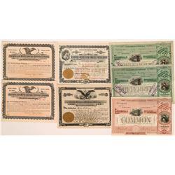 Various States RR stocks  (115989)