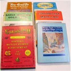 Colorado Railroad Hardcovers (6)  (85634)