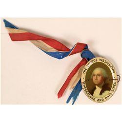 The George Washington Chesapeake and Ohio Lines Medal  (118059)