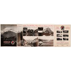 Northern Pacific Railroad travel brochure 1930's  (120234)