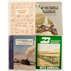 Railroad Books (4)  (88570)