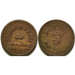 Copper Hill, AZ: Boughter & Rose Token  (89021)