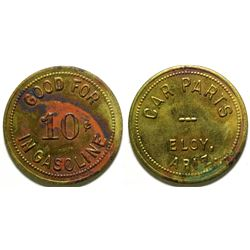 Eloy, AZ: Car Parts Token  (89017)