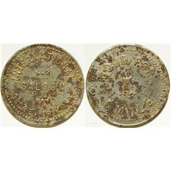 Globe, AZ: International Saloon Token  (85501)