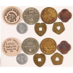 Seven Arizona Tokens  (89016)
