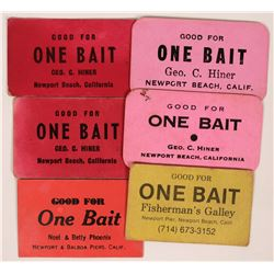 Newport Beach Bait Tokens  (119107)