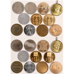 Eleven Chinese Related Tokens/Medallions  (85412)