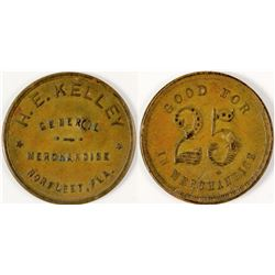 Norfleet, Florida: H. E. Kelley Token  (57763)