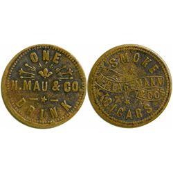 H. Mau Eureka, Nevada Token  (108468)