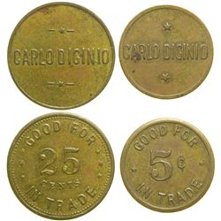Carlo Diginio Tokens  (89047)