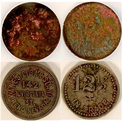 Kanes Cigar Stand Tokens  (108609)