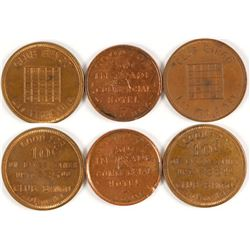 Club Bingo/Commercial Hotel Tokens  (80960)