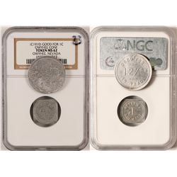 Two Nevada Tokens  (101197)