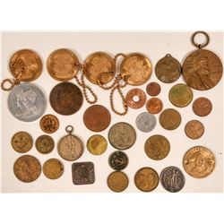 Foreign Coins, Tokens and Medals  (118839)
