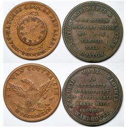 Two Store Cards Tokens  (118830)