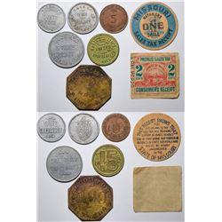 Various U.S. Tokens  (118826)