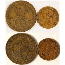 Gaming Counters (Gold Rush Era)  (76925)
