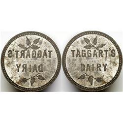 Taggart's Dairy Token Die  (85520)