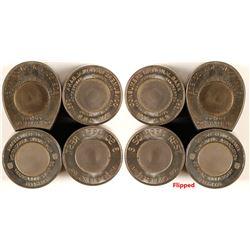 Four Pennsylvania Encased Cent Dies  (80053)