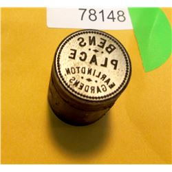 Earlington, WA Token Die  (78148)