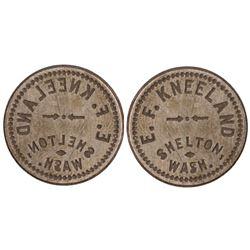Shelton, WA Token Die  (85642)