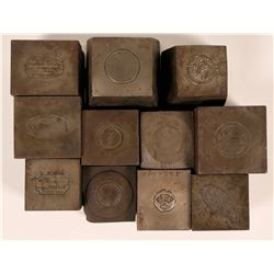 Square Shaped Dies (11)  (120007)