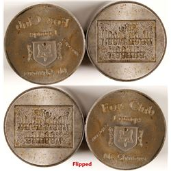 Two Saloon Token Dies  (80035)
