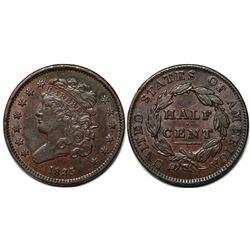 1835 Classic Head Half Cent  (118822)