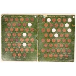 Lincoln Head Penny Boards  (117621)
