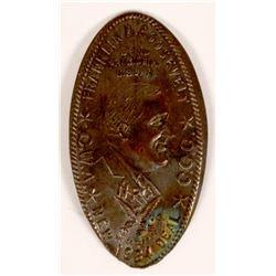Franklin Roosevelt New Deal Elongated Penny  (119072)